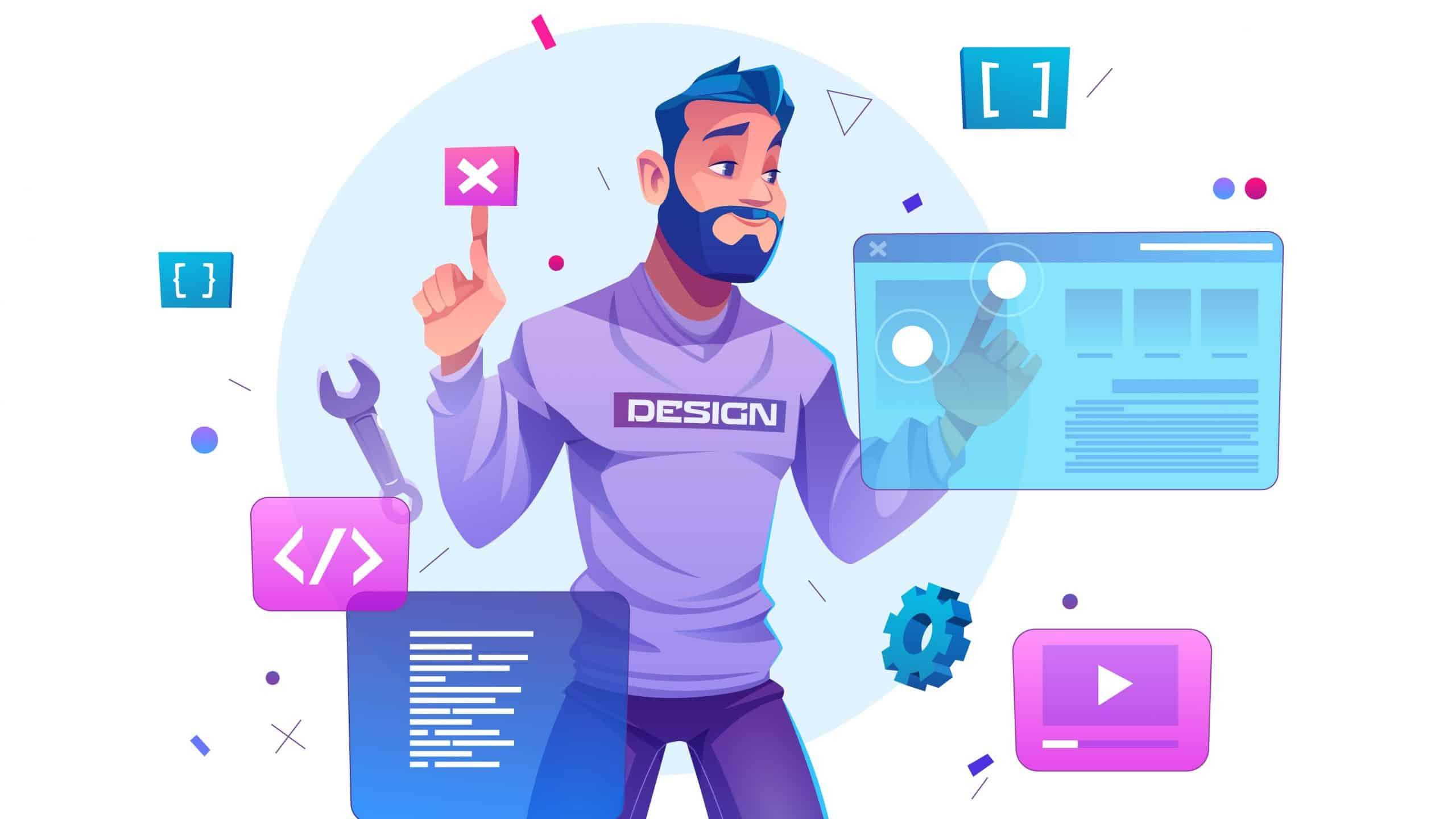 ۸ ویژگی طراحی سایت خلاقانه و نتیجه محور