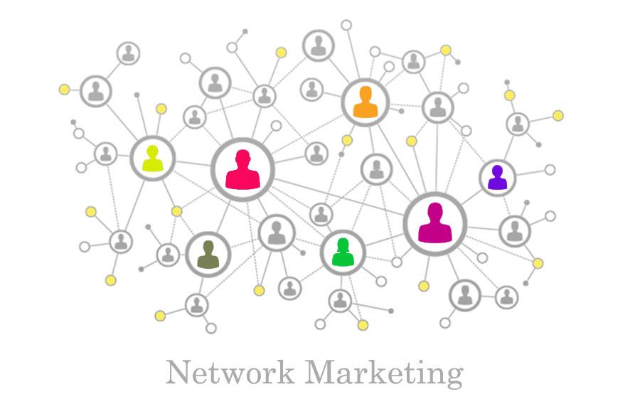 بازاریابی سنتی به صورت شبکه ای
