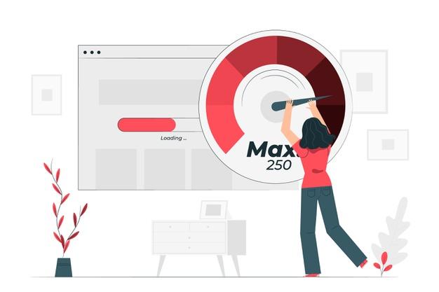 سرعت لود در طراحی سایت