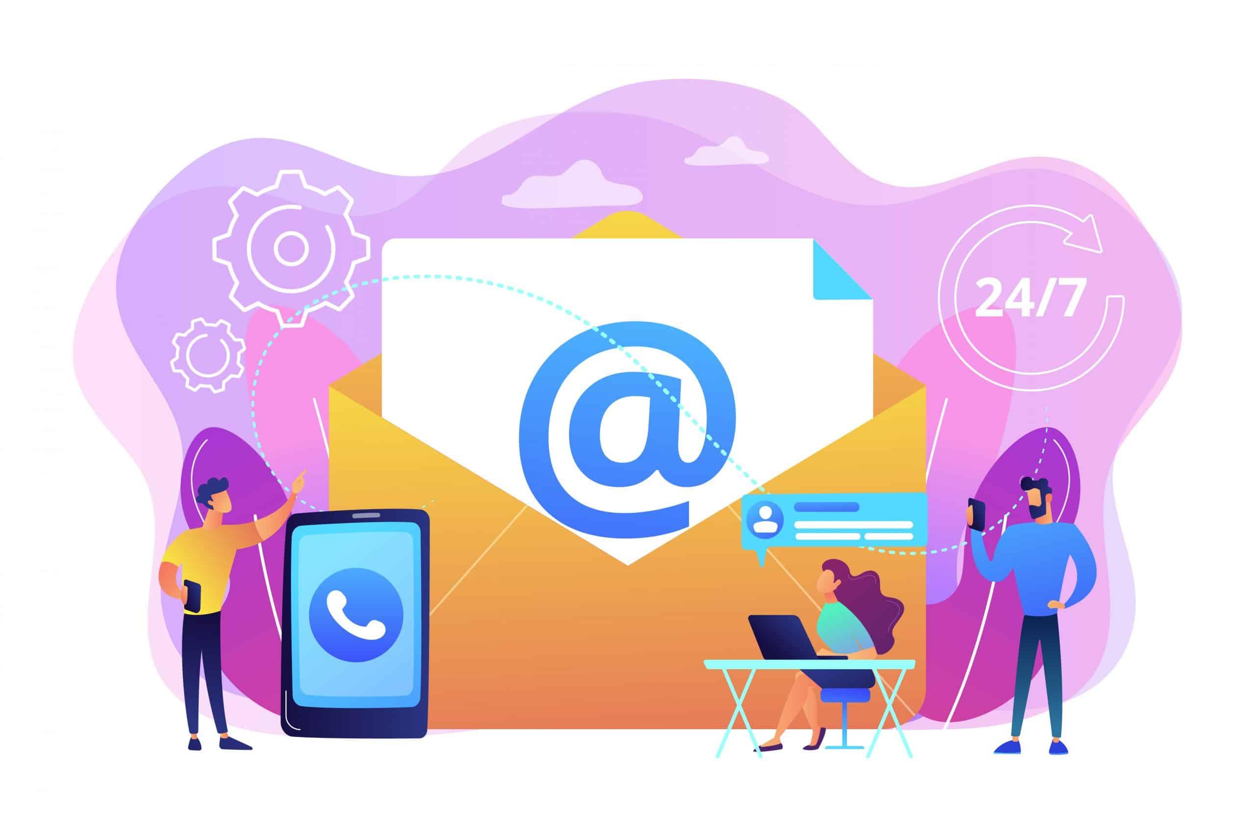 ایمیل مارکتینگ در نرخ تبدیل