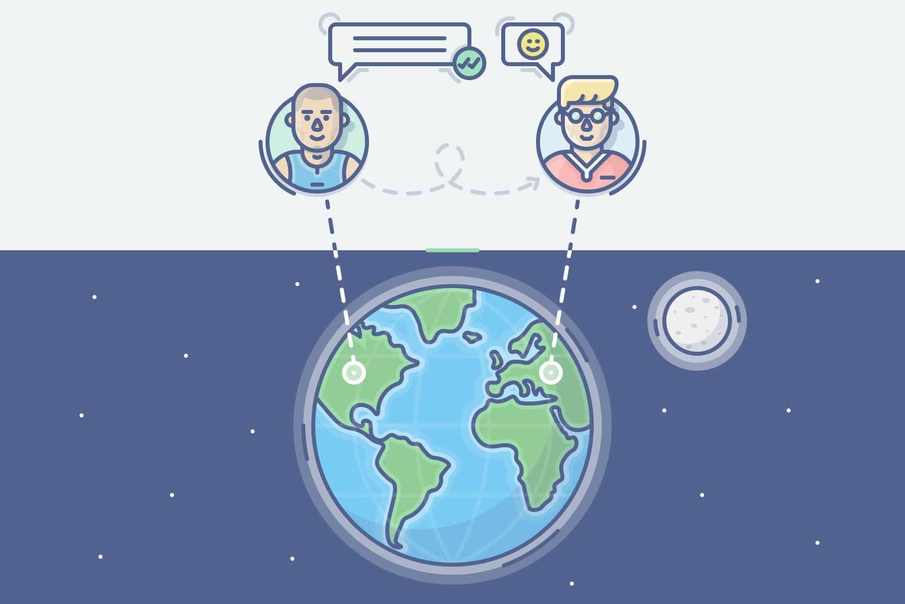 ارتباطات جهانی